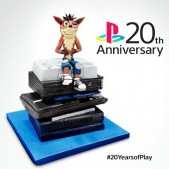 Sony Playstation 20th anniversary cake