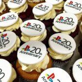 Sony Playstation cupcakes