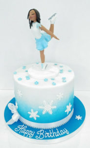 Sugar Model People Cakes - Happy Birthday Cake