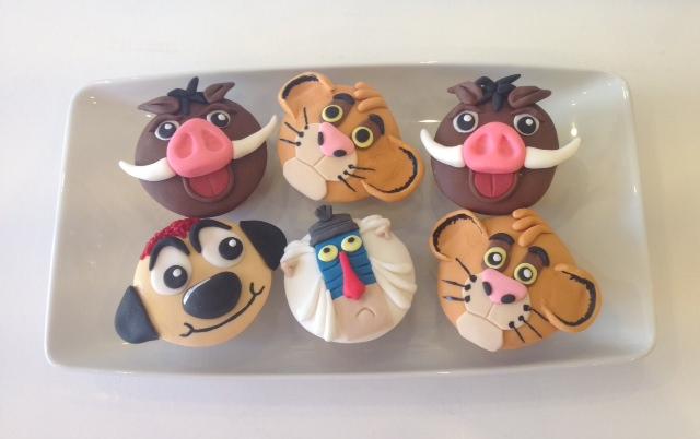 Pumba Cake: Lion King Birthday Cakes