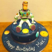 Buzz Lightyear birthday cake