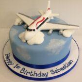 Sugar model of a plane