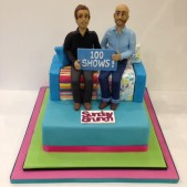 Sunday Brunch Cake to celebrate 100 shows