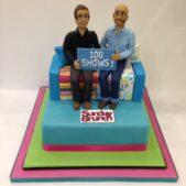 Sunday Brunch Cake to celebrate 100 shows