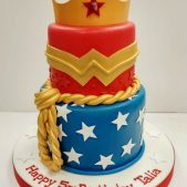 Superwoman Cake