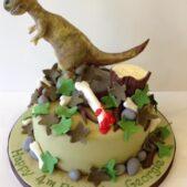 T-Rex cake less gory
