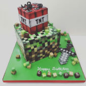 TNT Birthday Cake