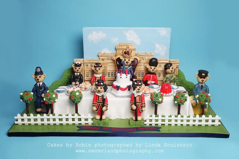 Prince George S 1st Birthday Cake For The Ideal Home Show