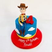 Toy Story – Woody – 4th Birthday Cake
