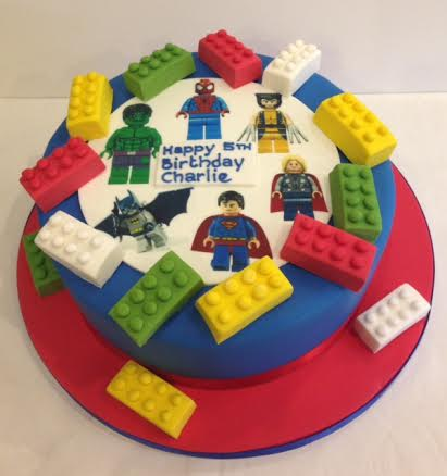 Lego Birthday Cakes Cakes By Robin