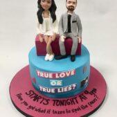 True Love or True Lies cake image