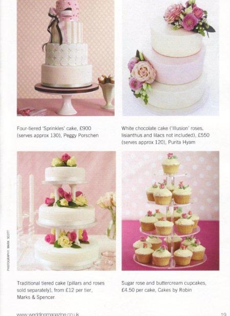 ultimate wedding cakes the ultimate wedding cakes amp flowers book cakes by robin 21411