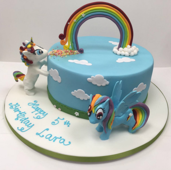 Unicorn Birthday Cake Cakes By Robin