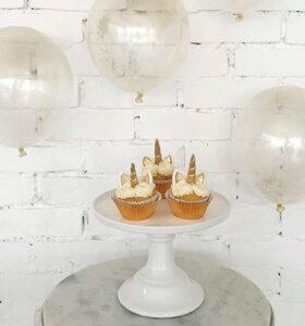 Unicorn Cupcakes - Vanilla
