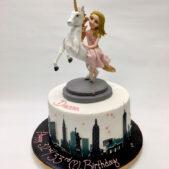 Unicorn Show Cake
