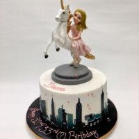 Themed Adult Unicorn Birthday Cake