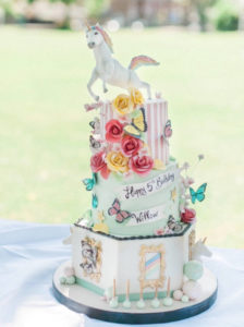 How to throw a unicorn themed birthday party | Cakes by Robin