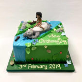 Wallis Christening Day – Junglebook themed cake