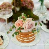 Wedding Cakes on a Table