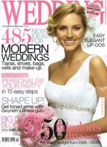 Wedding Magazine Oct/Nov 2009 Cakes by Robin