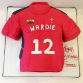 Welsh rugby shirt birthday cake