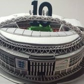Wembley Stadium Cake 10th Birthday