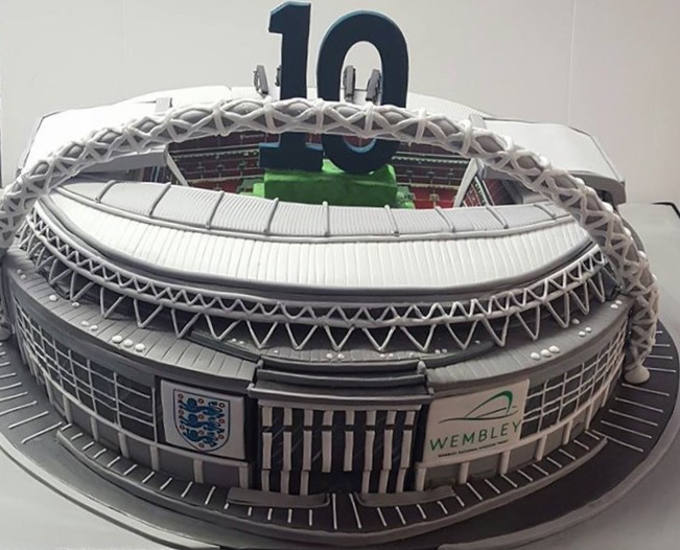 Wembley Stadium Corporate Cake