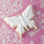 White butterfly favour £3.50 each