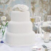 white wedding cakes London