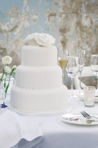 white wedding cakes London