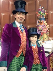 Willy wonka cake Charlie and the chocolate factory cake