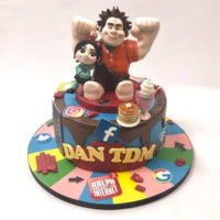 Wreck-it Ralph cake For YouTuber DanTDM