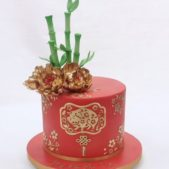 Year of the Pig themed cake