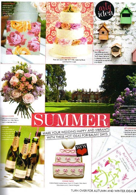 You and Your Wedding magazine Jan/Feb 2010