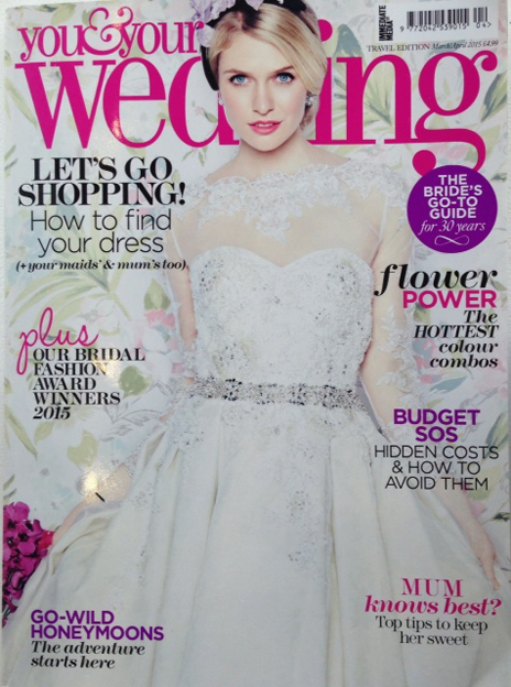 YouandYourWeddingMarchApril2015cover