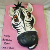 Zebra head 2D