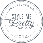 As featured on Style Me Pretty logo