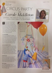 Cakes by Robin in Baby London magazine Sept Oct 2015