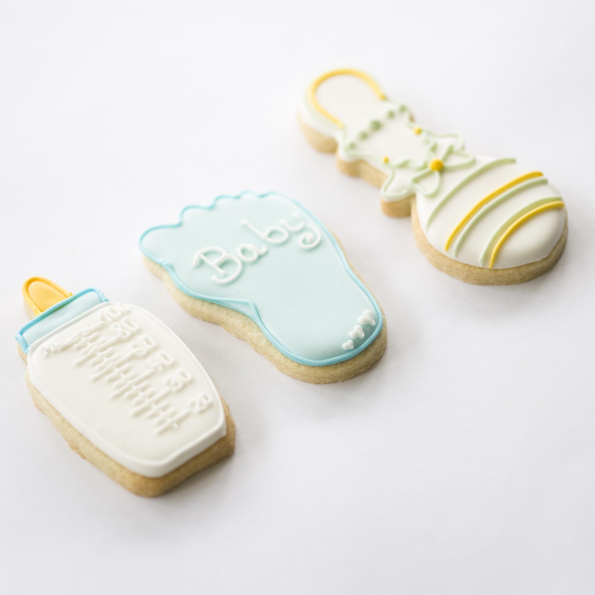 Baby Shower Cookies Christening Cookies