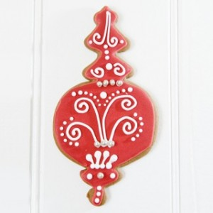 christmas decorative cookie