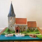 church model cake