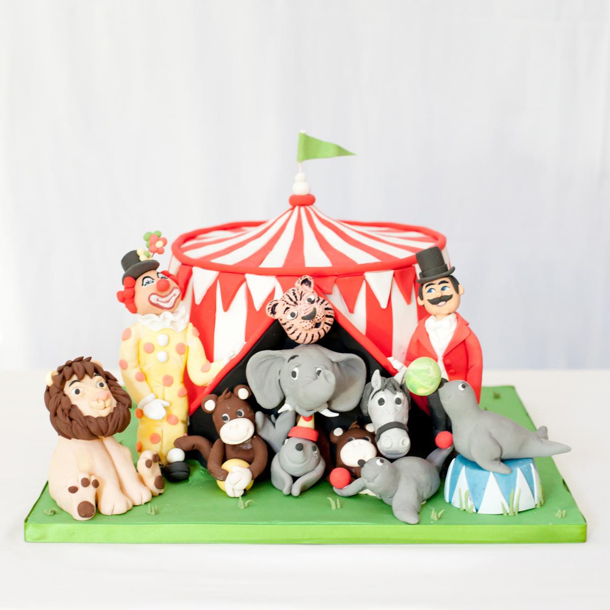 Circus Animal Cake Pops