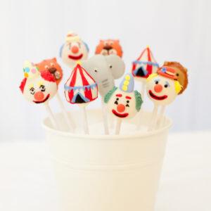 Circus cakepops