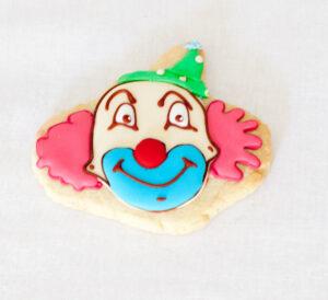 Clown cookie