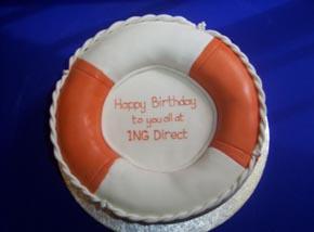 ING Direct Corporate cake
