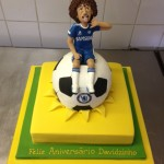 David Luiz birthday cake