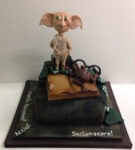 Dobby birthday cake