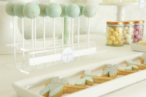 Dragonfly dessert table