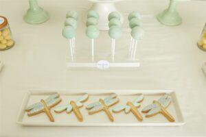 Dragonfly dessert table