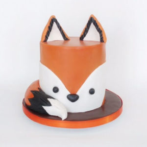Fox-tastic Birthday Cake